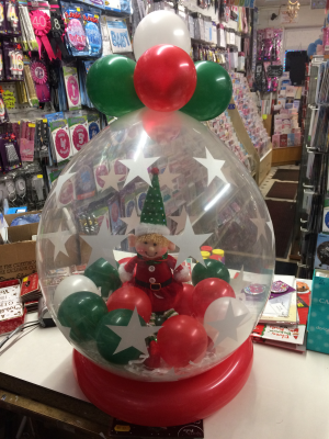 Elf In Balloon
