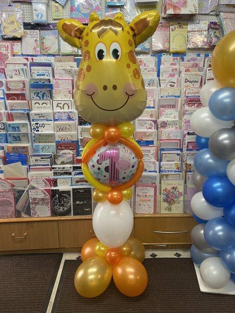 Giraffe 1st Pedestal