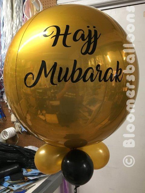 Bubbles Hajj Mubarak