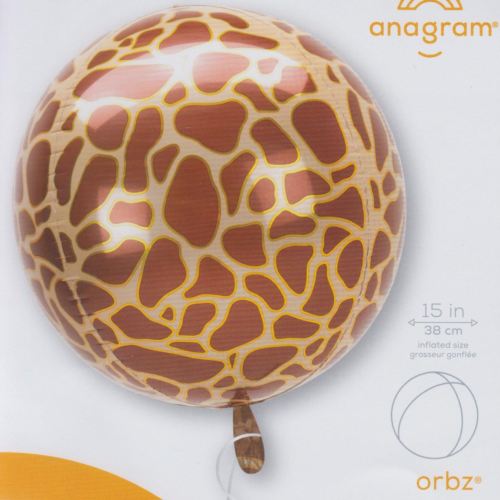 Orbz Giraffe Print