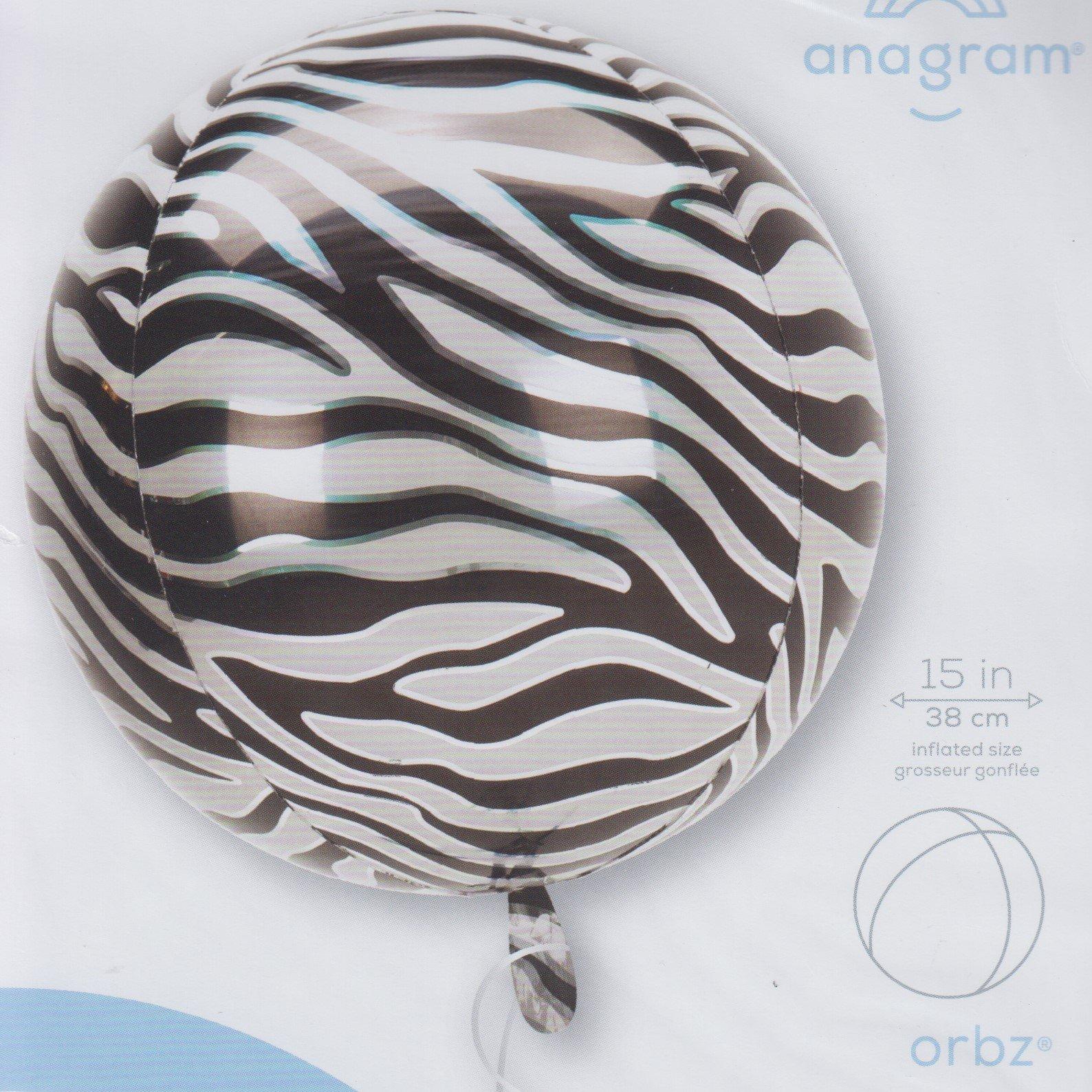 Orbz Zebra print