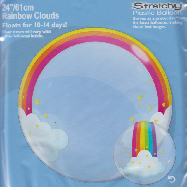 Rainbow Clouds Deco
