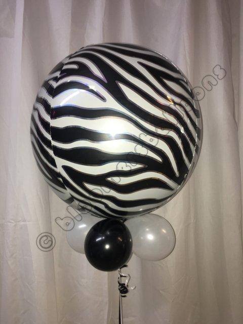 Zebra Print Orbz