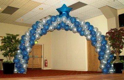 Star Studded Championship entrance archway